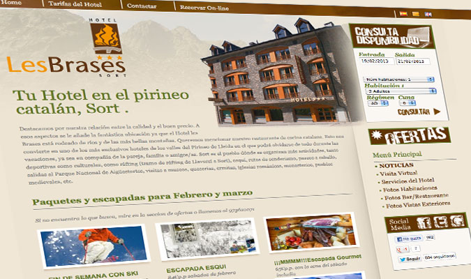 Hotel Les Brases Home