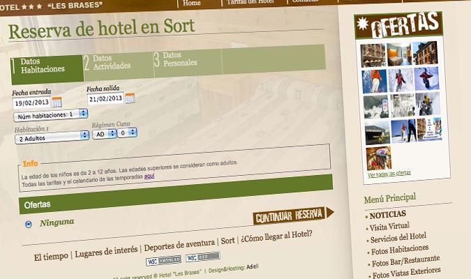 Hotel Les Brases Reserva