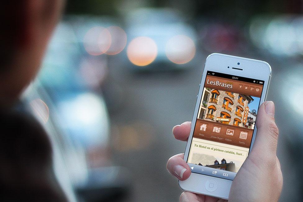 Hotel Brases Web Mòbil
