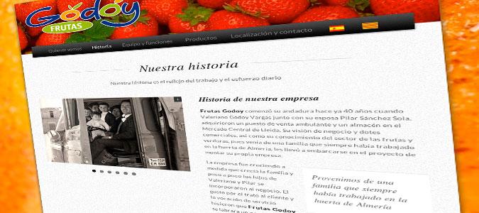 Frutas Godoy Pantalla Historia