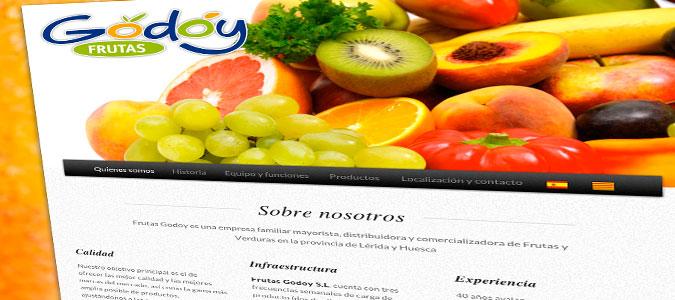 Frutas Godoy Pantalla Home