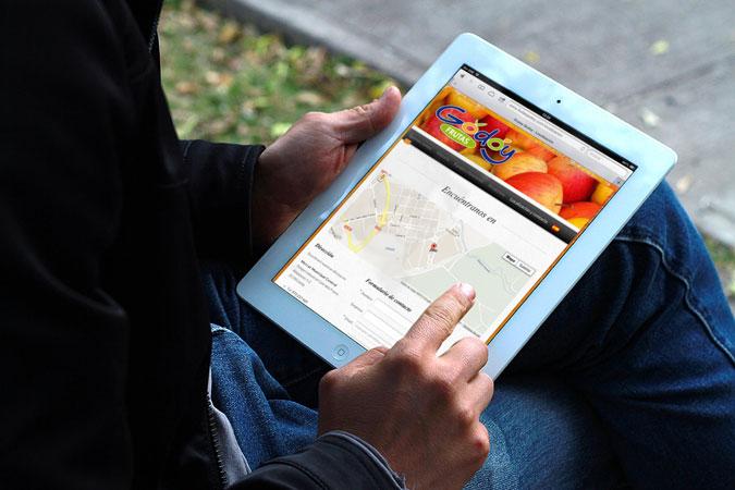 Frutas Godoy Pantalla iPad